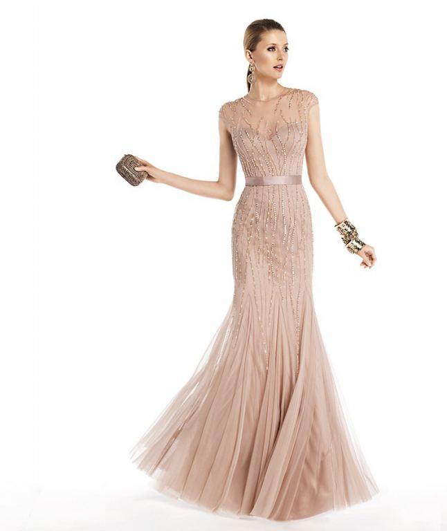 Вечернее платье от pronovias